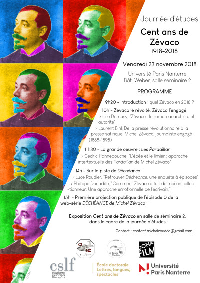 Affiche programme JEZ